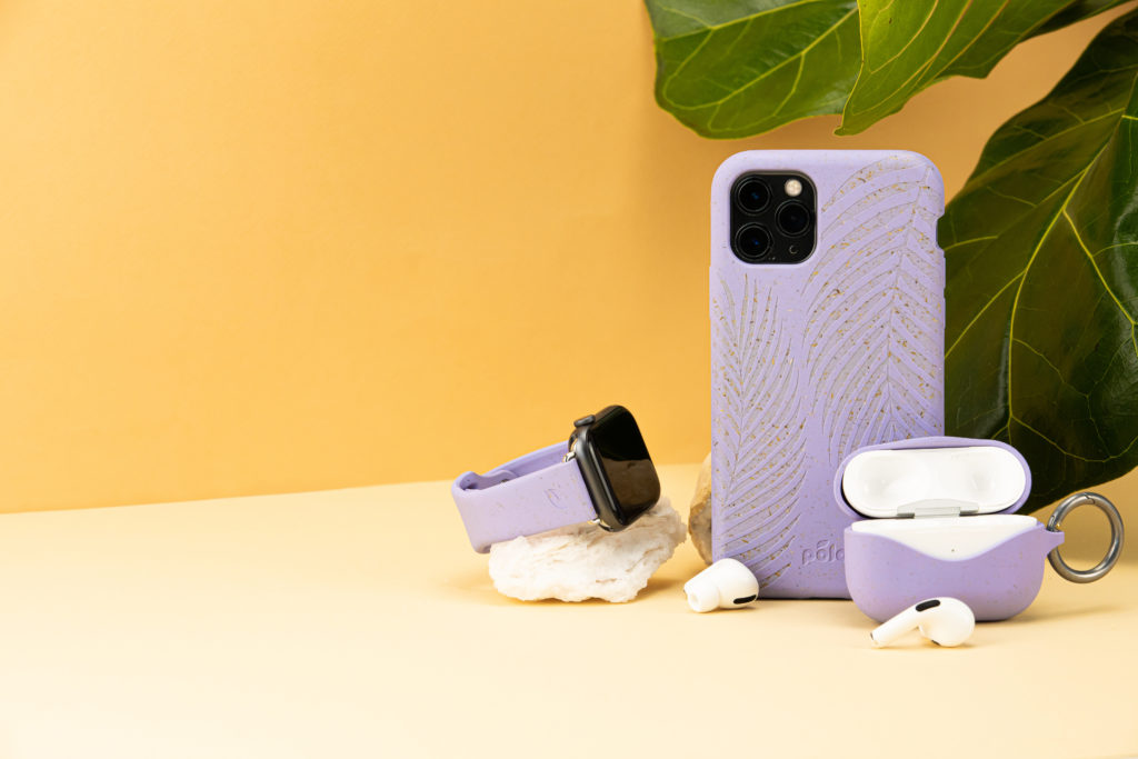 Biodegradable phone case, airpods case, apple watch band