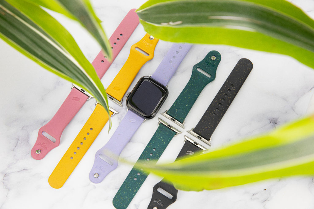 Biodegradable apple watch bands