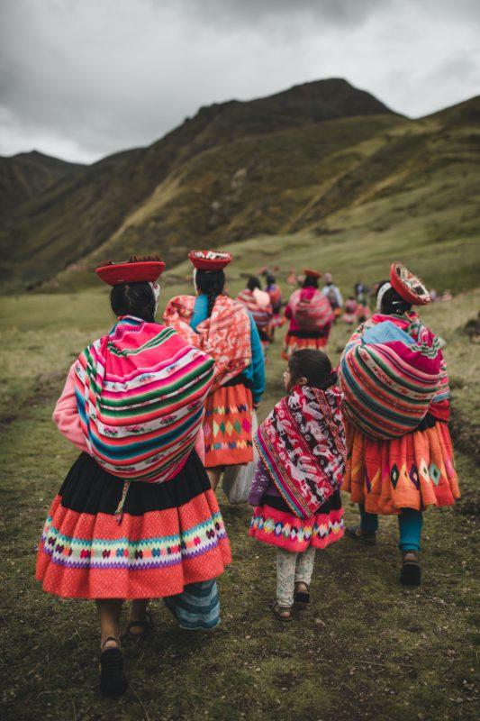 Photo of indigenous women